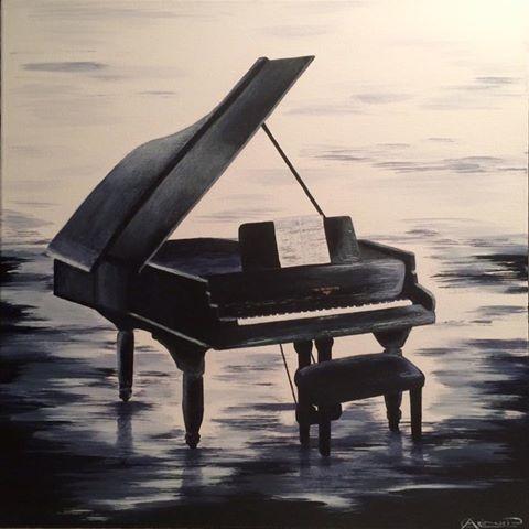 Le piano à queue